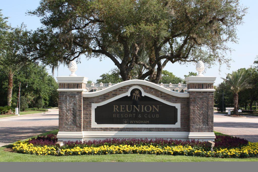 Reunion Resort Orlando Entrance